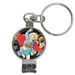 supergirl and the legend of super heroes Nail Clippers Key Chain
