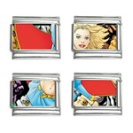 supergirl and the legend of super heroes 9mm Italian Charm (4 pack)