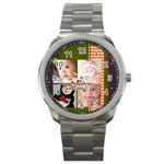 MERRRY CHRISTMAS - Sport Metal Watch