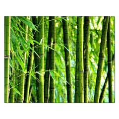 Bamboo Jigsaw Puzzle (rectangle) by Siebenhuehner