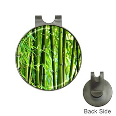 Bamboo Hat Clip With Golf Ball Marker by Siebenhuehner