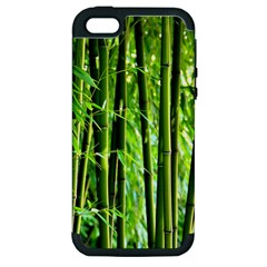Bamboo Apple Iphone 5 Hardshell Case (pc+silicone) by Siebenhuehner