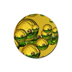 Balls Drink Coasters 4 Pack (round) by Siebenhuehner