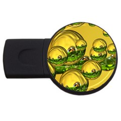 Balls 4gb Usb Flash Drive (round) by Siebenhuehner