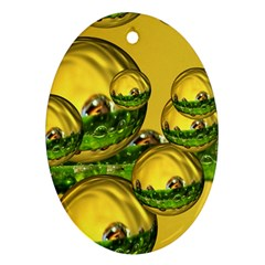 Balls Oval Ornament (two Sides) by Siebenhuehner