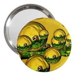 Balls 3  Handbag Mirror by Siebenhuehner