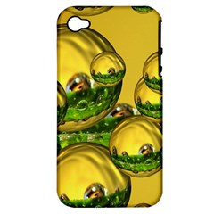 Balls Apple Iphone 4/4s Hardshell Case (pc+silicone) by Siebenhuehner