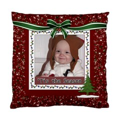 Tis The Season Cushion Case (2 Sides) By Lil    Standard Cushion Case (two Sides)   T3hc7e6k2zby   Www Artscow Com Front