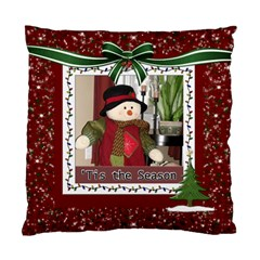 Tis The Season Cushion Case (2 Sides) By Lil    Standard Cushion Case (two Sides)   T3hc7e6k2zby   Www Artscow Com Back