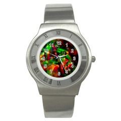Fantasy Welt Stainless Steel Watch (slim) by Siebenhuehner