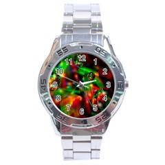 Fantasy Welt Stainless Steel Watch by Siebenhuehner