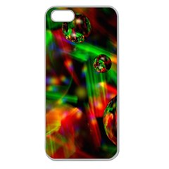 Fantasy Welt Apple Seamless Iphone 5 Case (clear) by Siebenhuehner