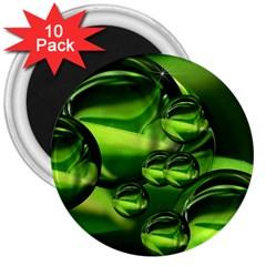 Balls 3  Button Magnet (10 Pack) by Siebenhuehner
