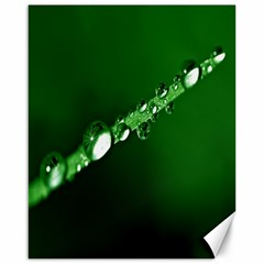 Drops Canvas 16  X 20  (unframed)