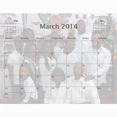 Webster By Wilma Phillips   Wall Calendar 11  X 8 5  (18 Months)   Ola9kr8yqjx4   Www Artscow Com Mar 2014