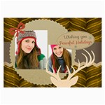 merry christmas - Glasses Cloth (Large, Two Sides)