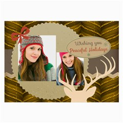 Merry Christmas By Merry Christmas   Large Glasses Cloth (2 Sides)   5zdau1gckhes   Www Artscow Com Back