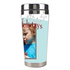 Merry Christmas By M Jan   Stainless Steel Travel Tumbler   Fo8yesaq42ng   Www Artscow Com Right