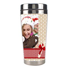 Merry Christmas By M Jan   Stainless Steel Travel Tumbler   Df947idfq32j   Www Artscow Com Right
