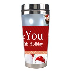 Merry Christmas By M Jan   Stainless Steel Travel Tumbler   Rftsjad1ncy7   Www Artscow Com Center