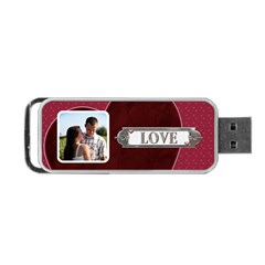 Love Forever Usb Flash (2 Sided) By Lil    Portable Usb Flash (two Sides)   Fx6axkr1wfjp   Www Artscow Com Front