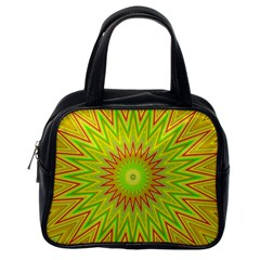 Mandala Classic Handbag (one Side) by Siebenhuehner