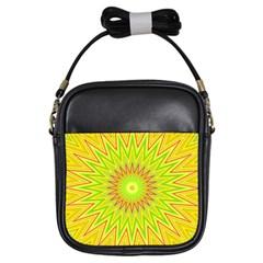 Mandala Girl s Sling Bag by Siebenhuehner