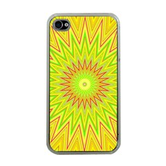 Mandala Apple Iphone 4 Case (clear) by Siebenhuehner
