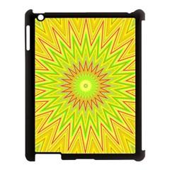 Mandala Apple Ipad 3/4 Case (black) by Siebenhuehner