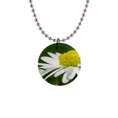 Daisy With Drops Button Necklace by Siebenhuehner