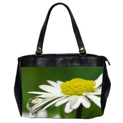 Daisy With Drops Oversize Office Handbag (two Sides) by Siebenhuehner