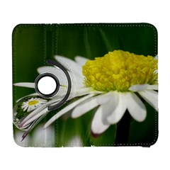 Daisy With Drops Samsung Galaxy S  Iii Flip 360 Case