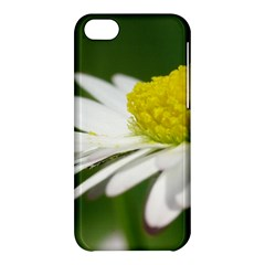Daisy With Drops Apple Iphone 5c Hardshell Case by Siebenhuehner