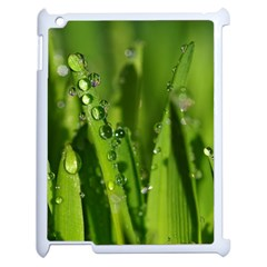 Grass Drops Apple Ipad 2 Case (white) by Siebenhuehner