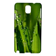 Grass Drops Samsung Galaxy Note 3 N9005 Hardshell Case by Siebenhuehner