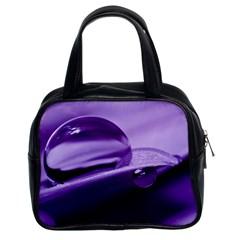 Drops Classic Handbag (two Sides)