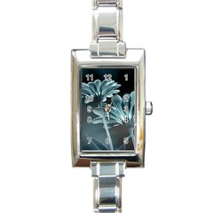 Osterspermum Rectangular Italian Charm Watch by Siebenhuehner