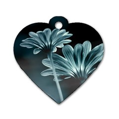 Osterspermum Dog Tag Heart (two Sided) by Siebenhuehner