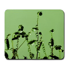Mint Drops  Large Mouse Pad (rectangle) by Siebenhuehner