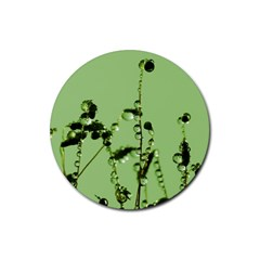 Mint Drops  Drink Coaster (round) by Siebenhuehner