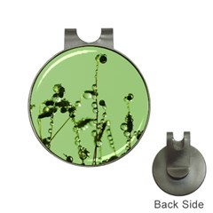 Mint Drops  Hat Clip With Golf Ball Marker by Siebenhuehner