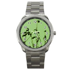 Mint Drops  Sport Metal Watch by Siebenhuehner