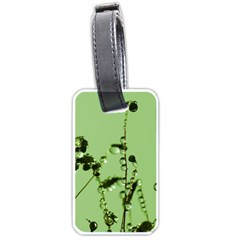Mint Drops  Luggage Tag (one Side) by Siebenhuehner