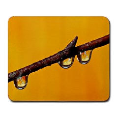 Tree Drops  Large Mouse Pad (rectangle) by Siebenhuehner