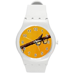 Tree Drops  Plastic Sport Watch (medium) by Siebenhuehner
