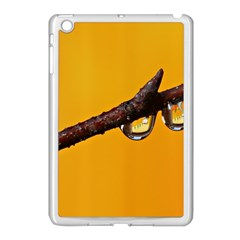 Tree Drops  Apple Ipad Mini Case (white) by Siebenhuehner