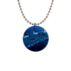 Drops Button Necklace by Siebenhuehner