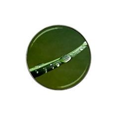 Grass Drops Golf Ball Marker (for Hat Clip) by Siebenhuehner