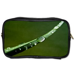 Grass Drops Travel Toiletry Bag (two Sides) by Siebenhuehner