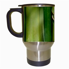 Bamboo Travel Mug (white) by Siebenhuehner
